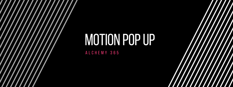 Motion Physical Therapy Pop Up at Alchemy